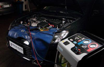 Диагностика систем кондиционирования автомобиля