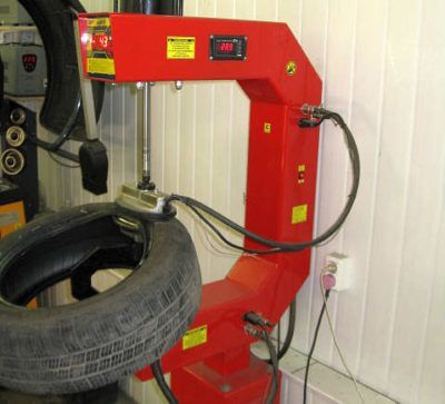 вулканизация бокового пореза шины