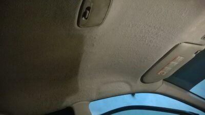 Химчистка потолка автомобиля