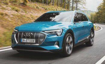 Audi E-tron ремонт в Минске