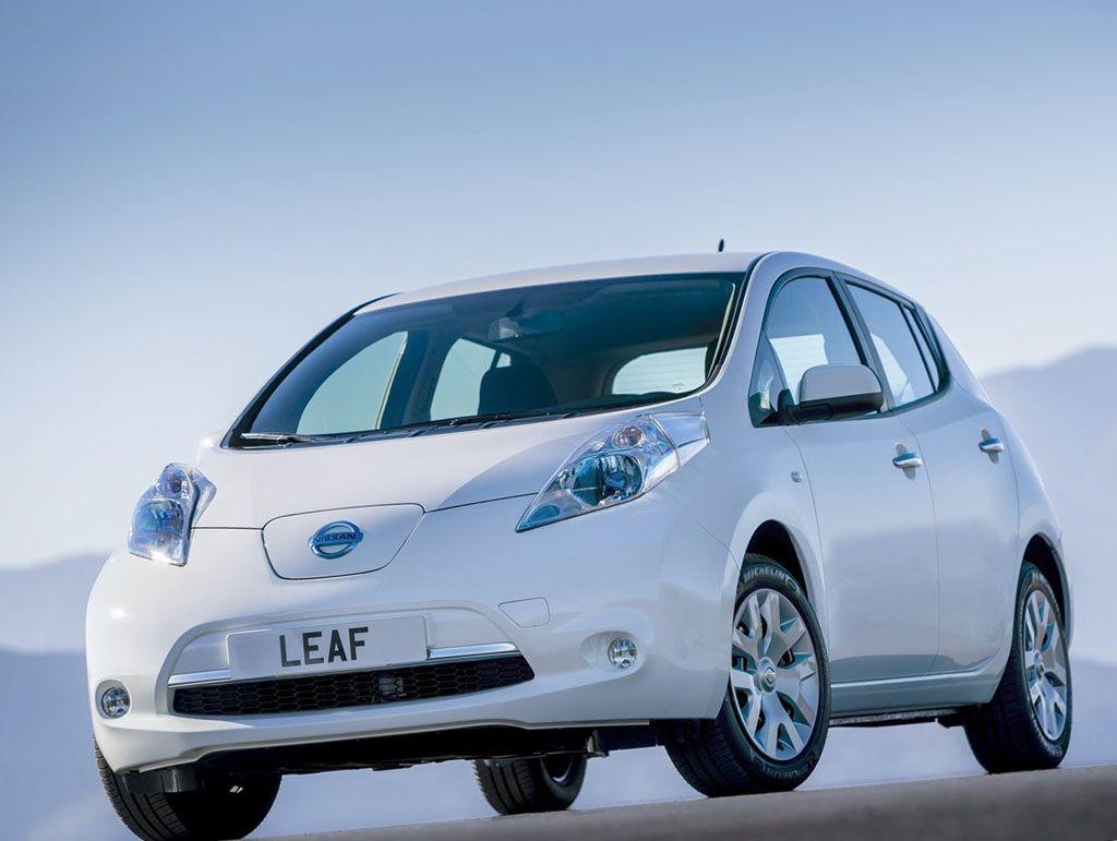 Nissan Leaf ремонт в Минске