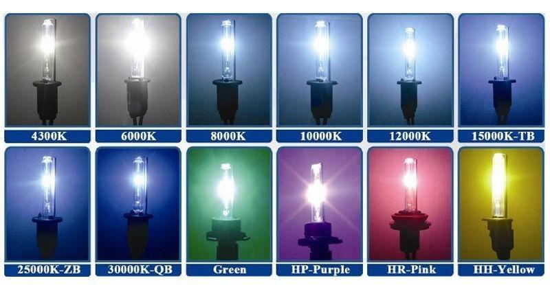 Выбор ксеноновых ламп