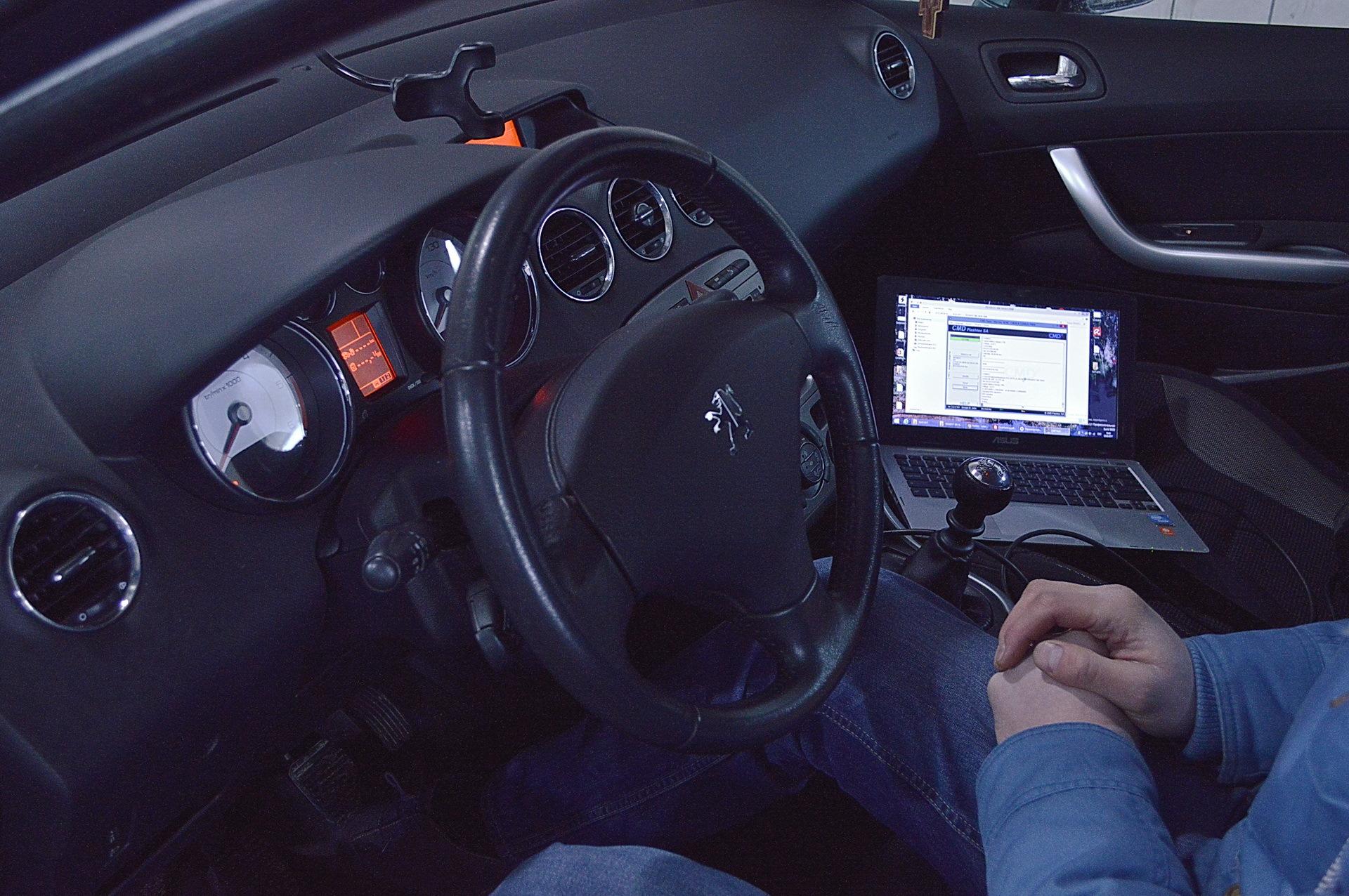 Диагностика Peugeot перед покупкой