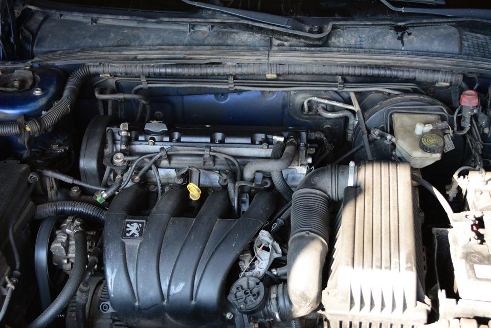 Замена двигателя Peugeot