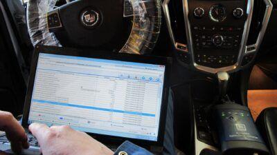Диагностика Cadillac перед покупкой