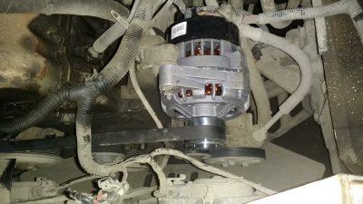 Замена генератора Chevrolet