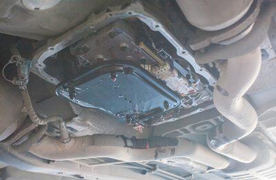 Замена масла в АКПП Cadillac