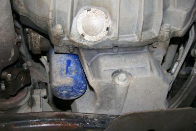 Замена масла в двигателе Cadillac