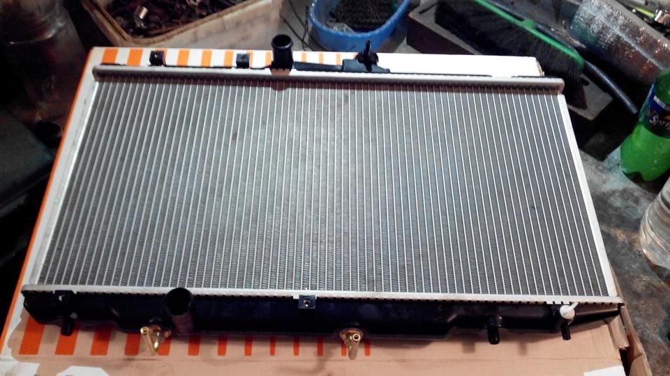 Замена радиатора охлаждения Acura