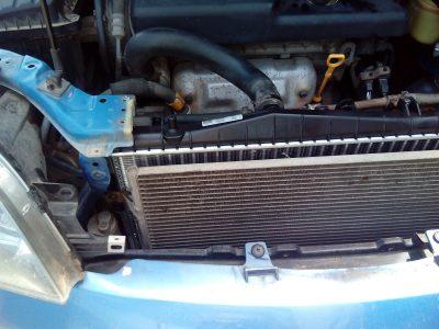 Замена радиатора охлаждения Chevrolet
