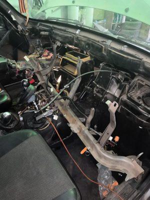 Замена радиатора печки Chevrolet