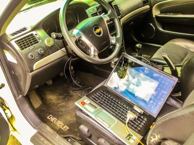 Компьютерная диагностика систем автомобиля Chevrolet