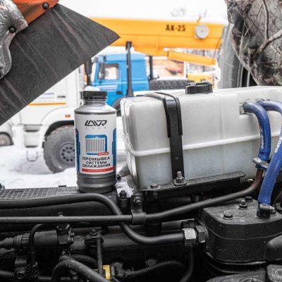 Промывка системы охлаждения Cadillac