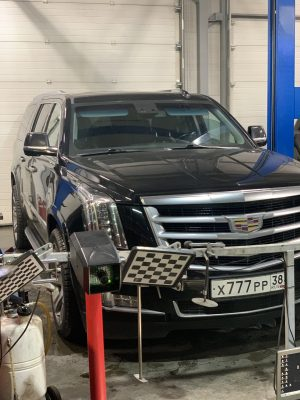 Техническое обслуживание Cadillac