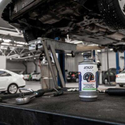Промывка системы охлаждения Mercedes