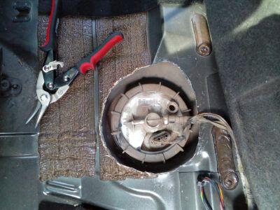 Замена топливного фильтра Ford
