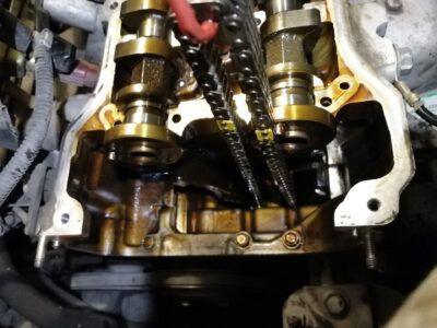 Замена маслосъемных колпачков Acura