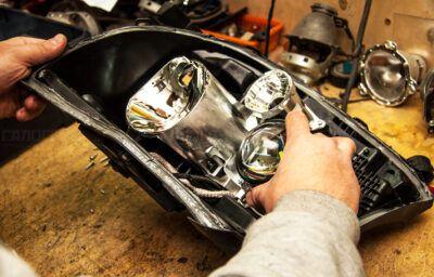 Ремонт фар и осветительных приборов Chrysler