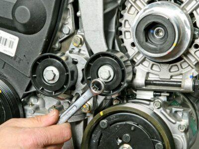 Замена генератора Renault
