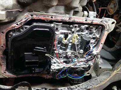 Замена масла в АКПП Mazda