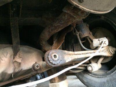 Ремонт задней балки Mazda