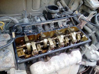 Замена клапанной крышки Renault