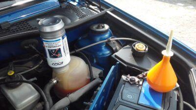 Промывка системы охлаждения Renault