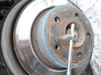 Замена тормозных барабанов Mercedes