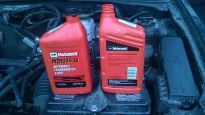 Замена масла в АКПП Ford