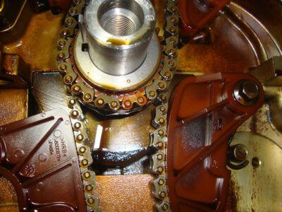 Замена цепи ГРМ Mitsubishi