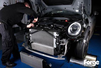 Диагностика системы охлаждения Mini Cooper