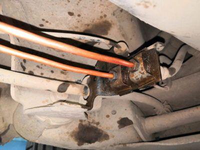 Замена тормозных трубок Renault