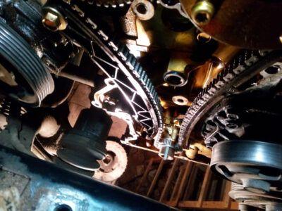 Замена цепи ГРМ Mazda