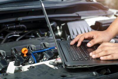 Компьютерная диагностика систем автомобиля Renault