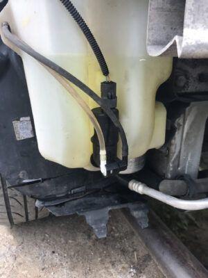 Замена моторчика омывателя Renault