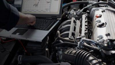 Диагностика бензиновых двигателей Ford