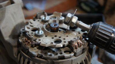 Ремонт генератора Ford