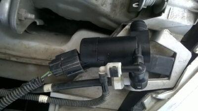 Замена моторчика омывателя Ford