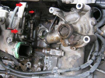 Замена насоса охлаждения (помпы) Mini Cooper