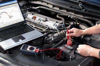 Диагностика электрооборудования Mitsubishi