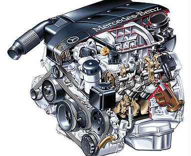 Ремонт электронной части двигателя Mercedes