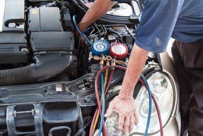 Диагностика систем кондиционирования Alfa Romeo