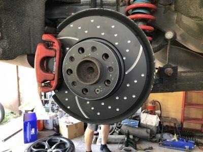 Диагностика тормозной системы Alfa Romeo