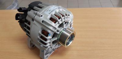 Замена генератора Citroen