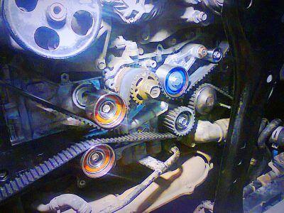 Замена ремня ГРМ Aston Martin