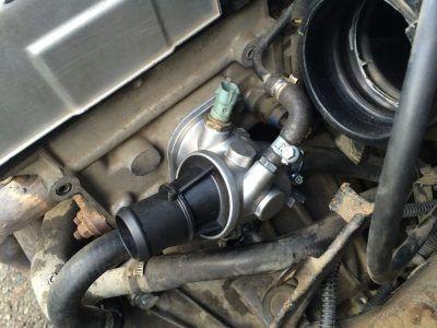 Замена термостата Alfa Romeo