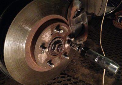 Замена тормозных дисков Acura