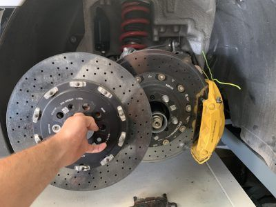 Замена тормозных дисков Alfa Romeo