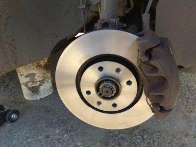 Замена тормозных дисков Citroen