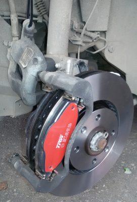 Замена тормозных колодок Citroen
